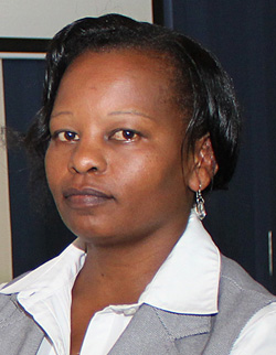Mercy Mumbi Murigu (Female, MSc Scholar)
