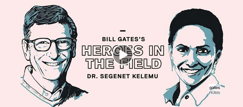 icipe Director General among Bill Gates' 'heroes in the field'